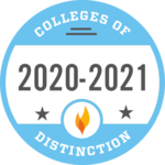 Colleges of Distinction Award - 2020-2021