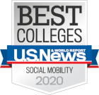 Best Colleges - U.S. News & World Report - Social Mobility 2020