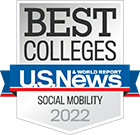 Best Colleges - U.S. News & World Report - Social Mobility 2021