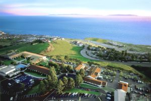 arial view of Marymount California University Oceanview Campus
