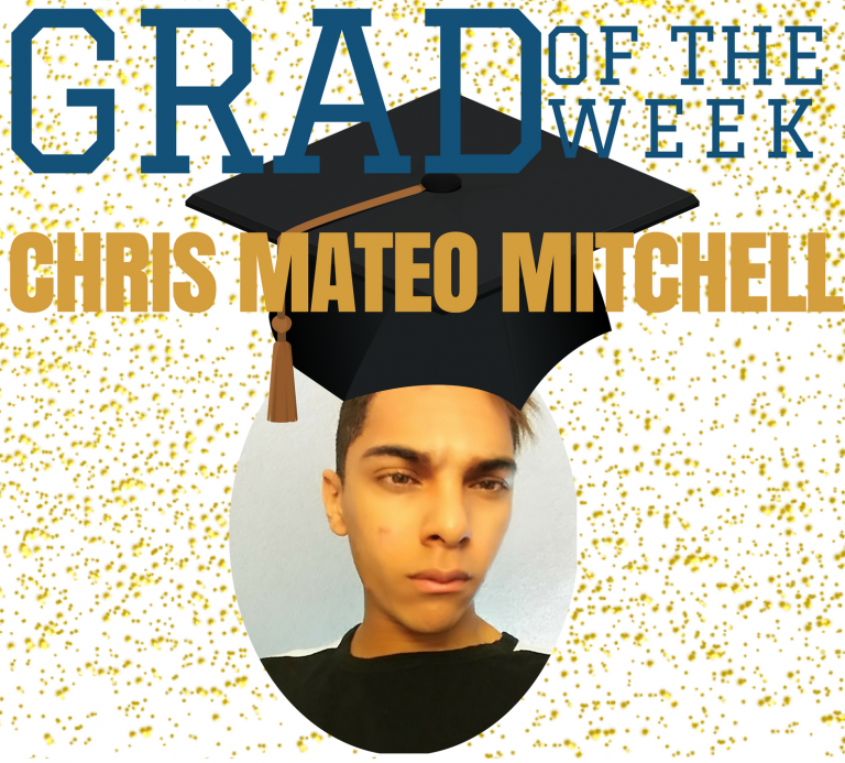 "Chris ""Mateo"" Mitchell, Grad of the Week"