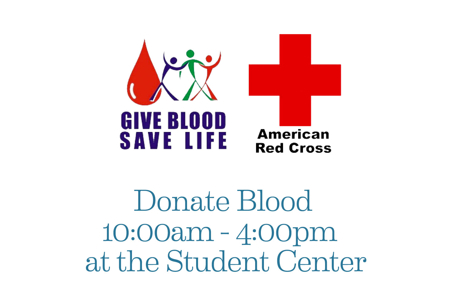 Donate blood poster