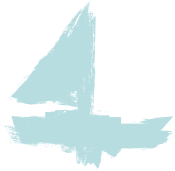 outline of a sailboat