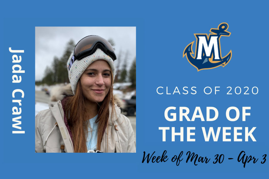 MCU Grad of the week Jada Crawl