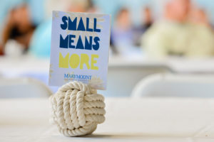 Small means more sign