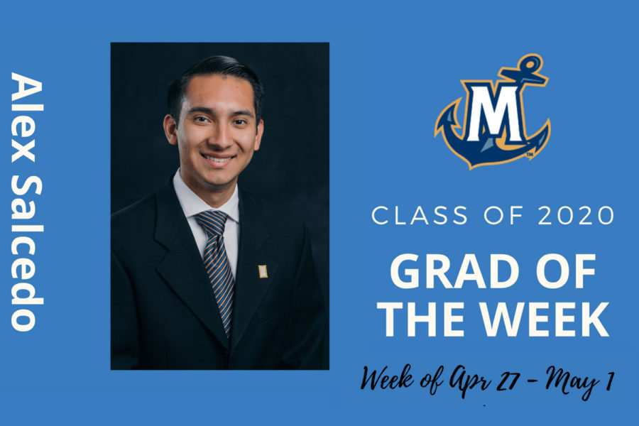 Alex Salsedo, MCU Grad of the Week