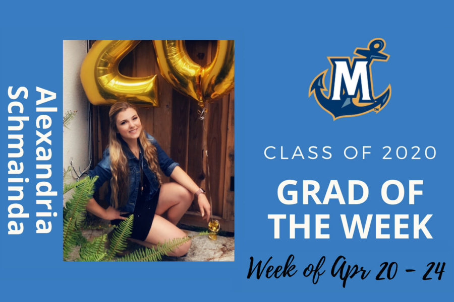 Alexandria Schmainda MCU Grad of the Week