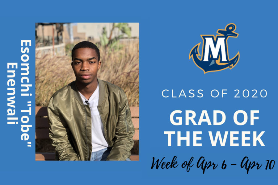MCU Grad of the week Esomchi Enenwali