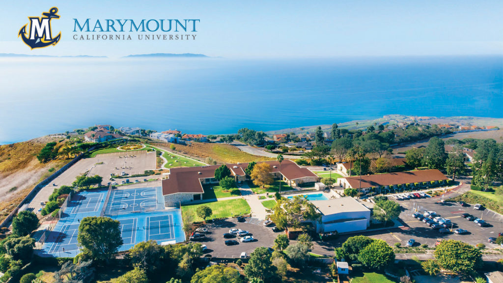 Zoom background - Aerial view of Oceanview campus