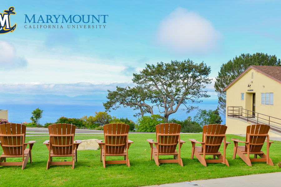 Zoom Background - Adirondack chairs wide angle