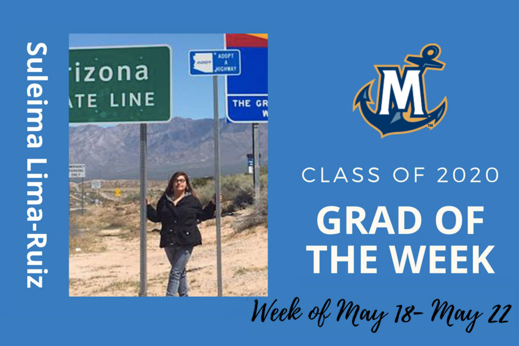 MCU Grad of the week Suleima Lima-Ruiz