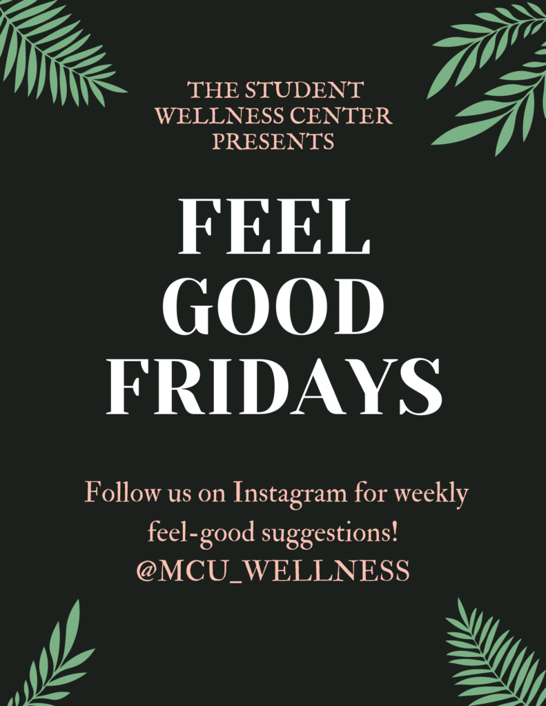 Feel Good Fridays poster