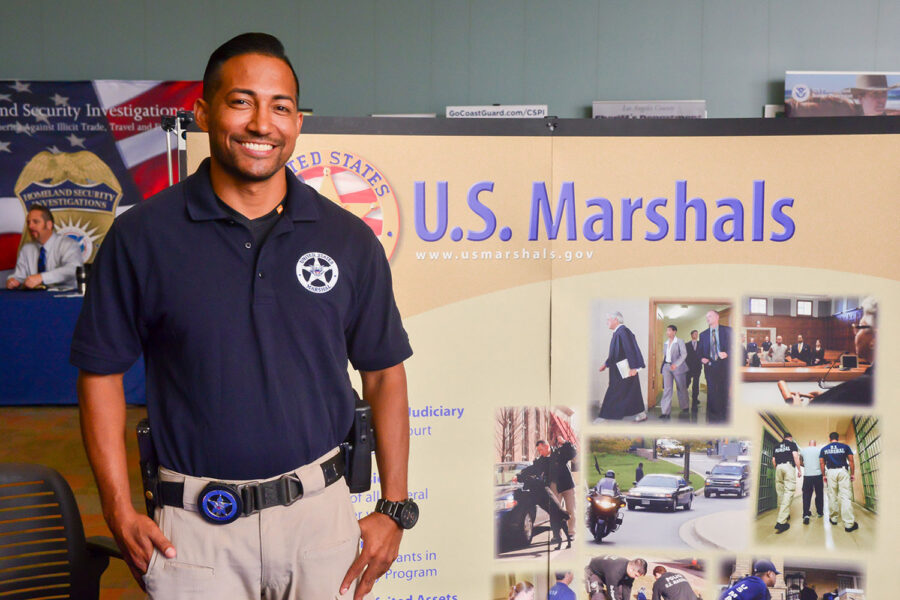 US Marshall at MCU Career Fair