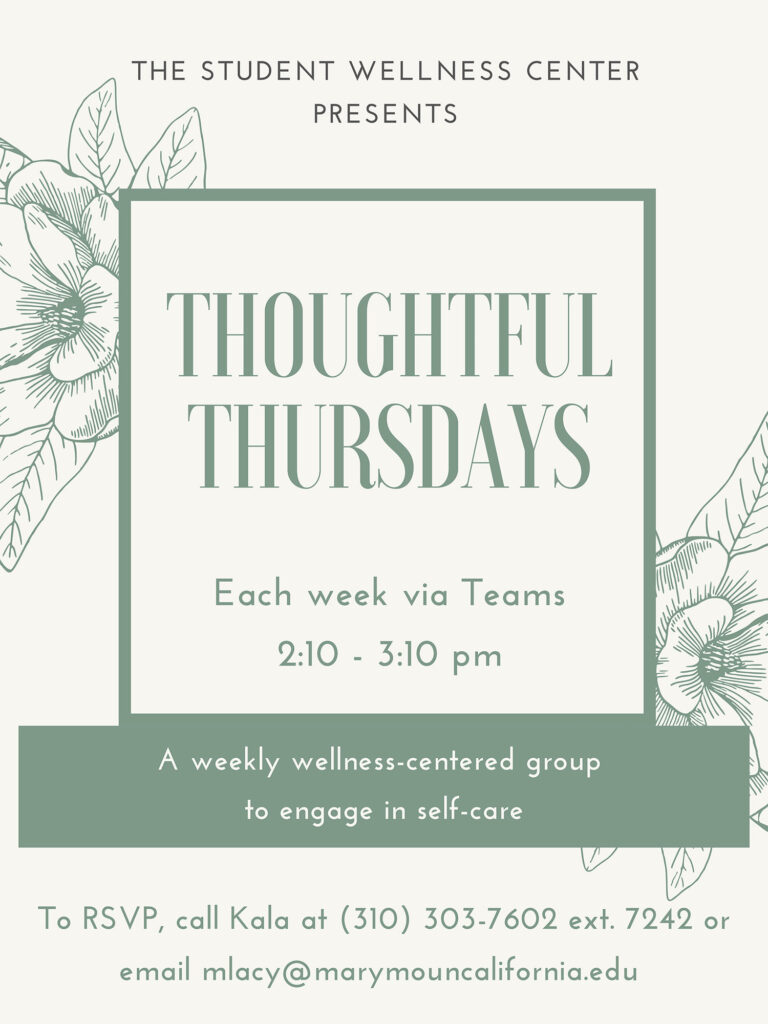 Thoughtful Thursdays poster