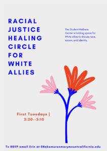 Healing Circle for White allies poster