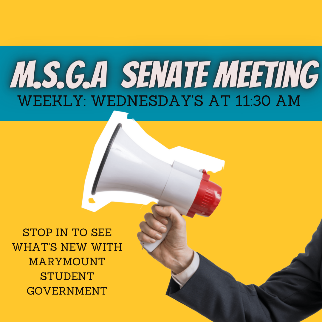 MSGA meetings poster