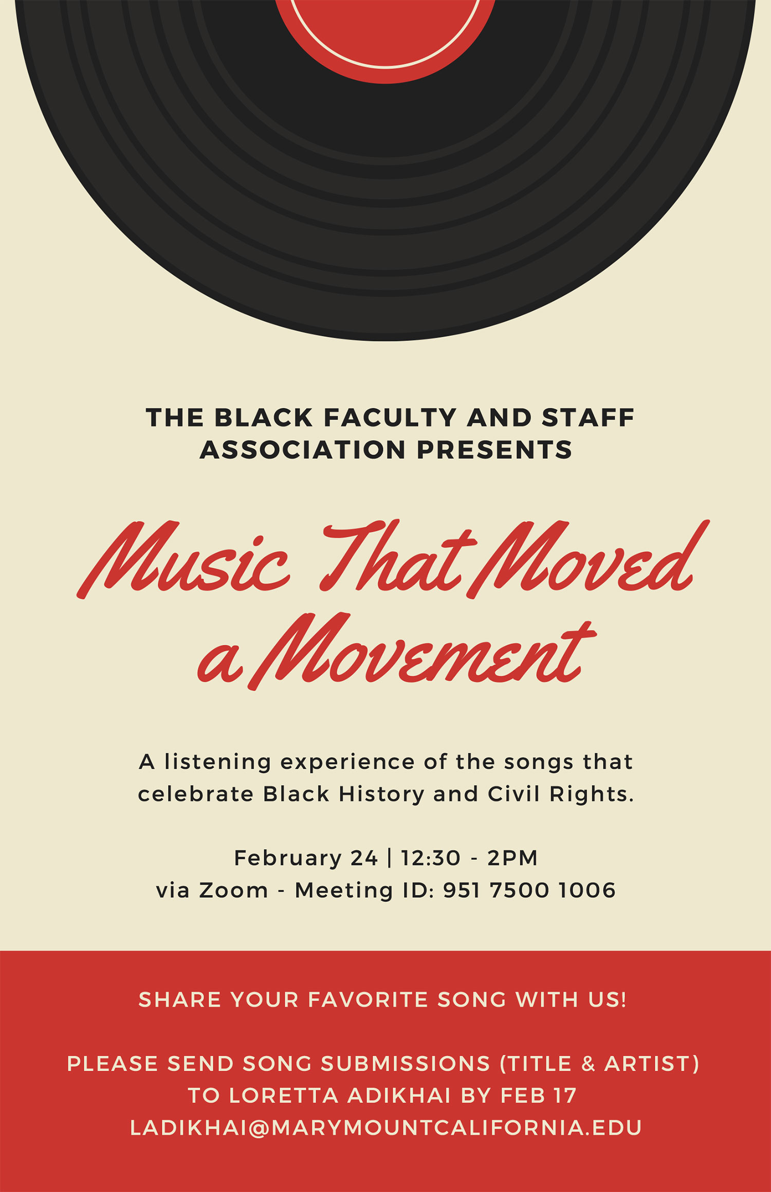 Music that Moved a Movement poster