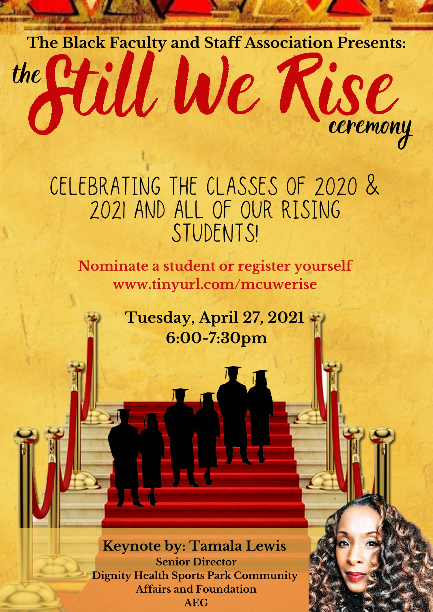 Still We Rise Ceremony poster