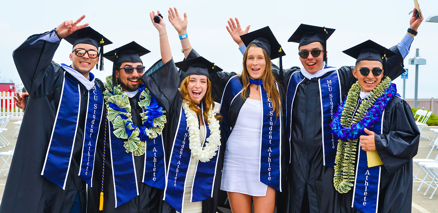 Students from Marymount California Class of 2021